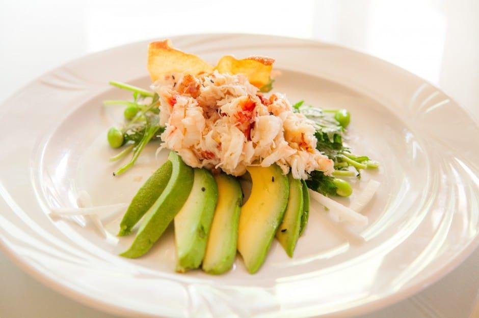 Food and Wine - Crab and Avocado Salad