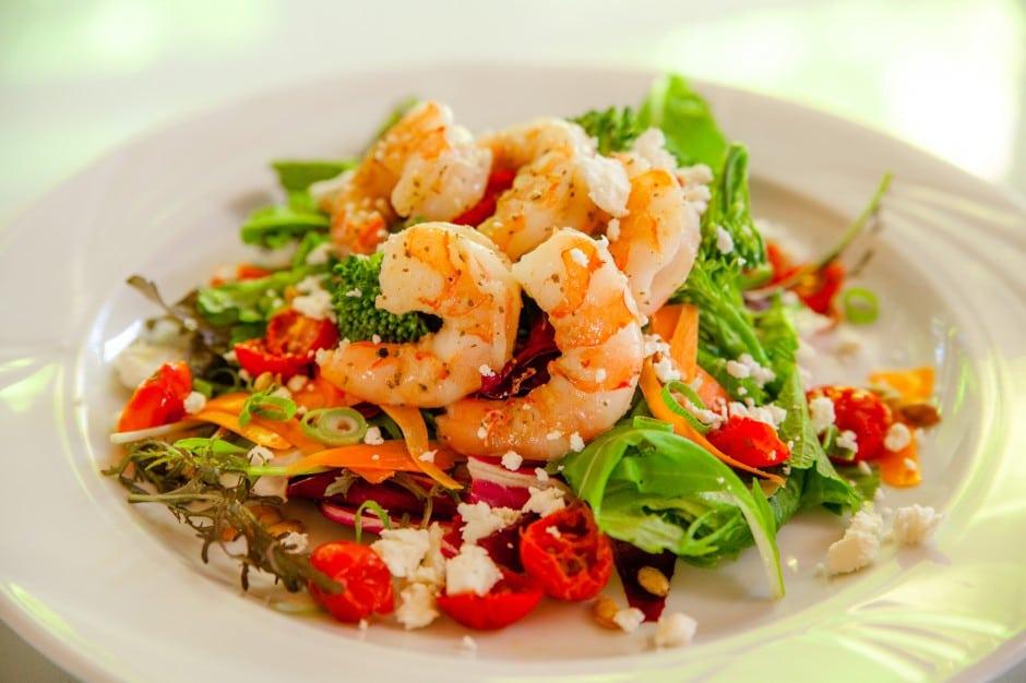 Perfect seafood dish - Cooked Shrimp Salad