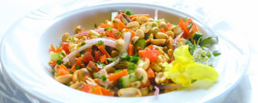 Crunchy coleslaw salad makes a great side for many meals