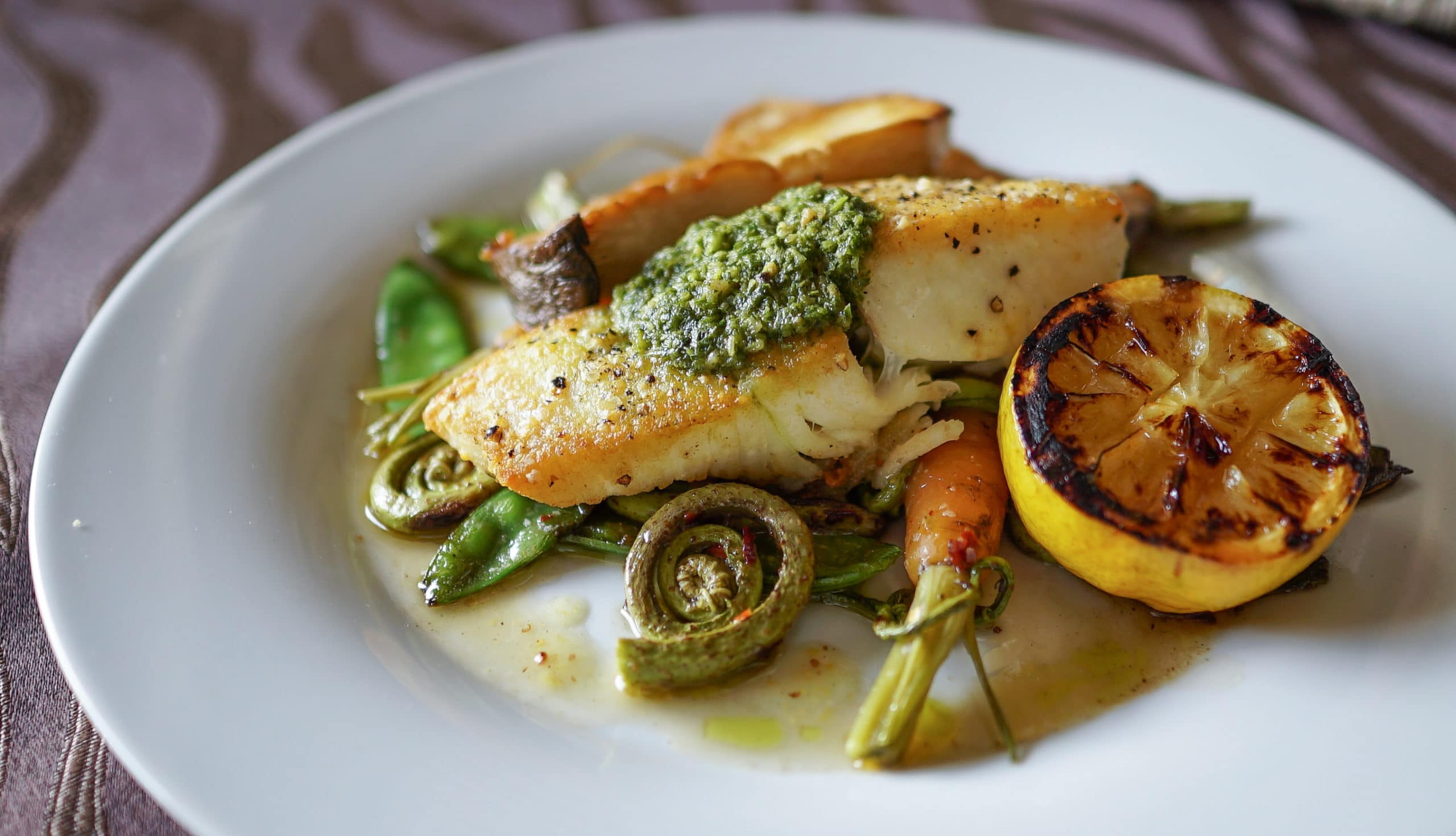 After visiting Pelindaba Lavender Farm, enjoy an exquisite meal at our Coho Restaurant in Friday Harbor