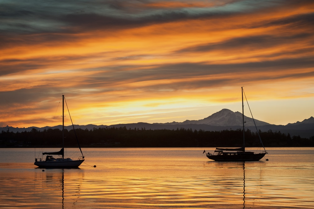 Incredible views await during the summer, which is the best time to visit the San Juan Islands