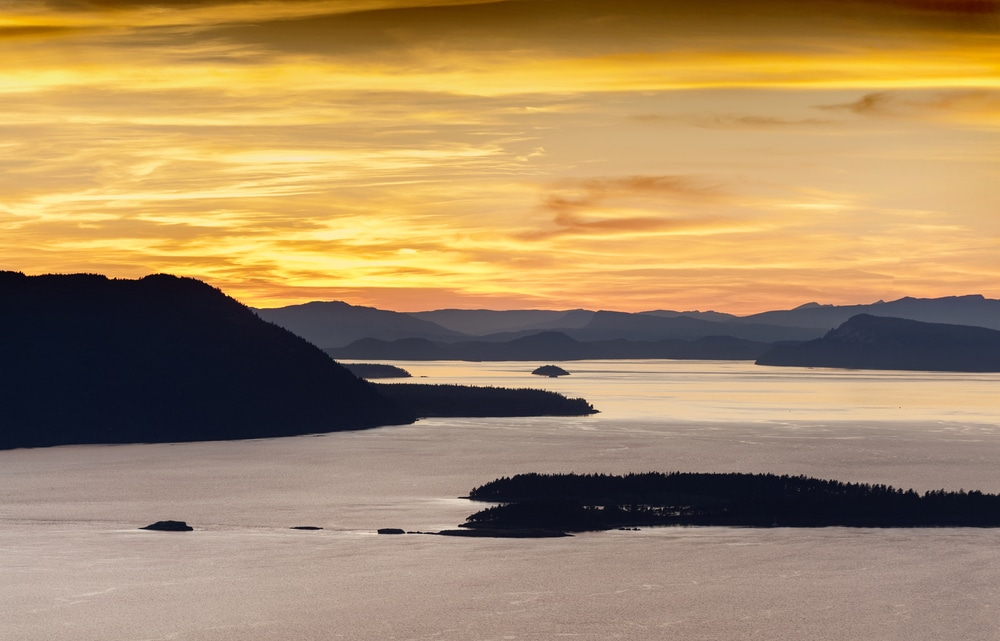 Sunset Views from one of the Best San Juan Island Hikes