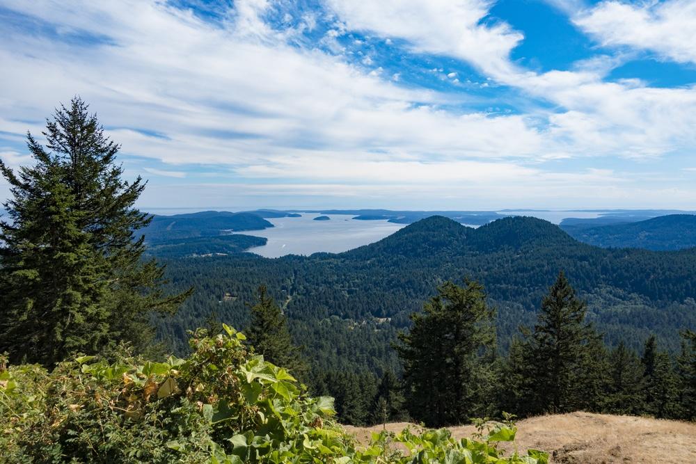 Great Views from top San Juan Island Hikes This Summer